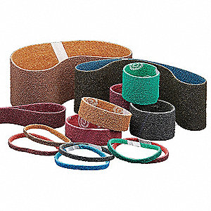 Sanding Belt,1in.Wx42in.L,AO,150G