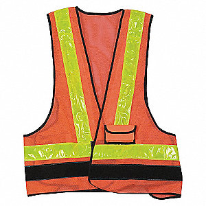 LED SAFETY VEST UNRATED UNIVERSAL O