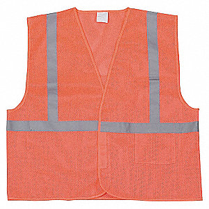 VESTE HV CLASSE1 ORANGE M