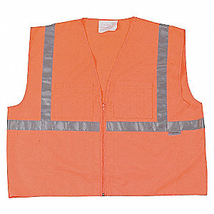 HIGH VISIBILITY VEST CLASS 1 OR 4X
