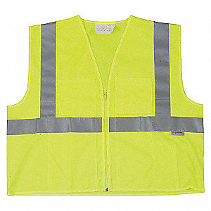 HIGH VISIBILITY VEST CLASS2 LIME 2X