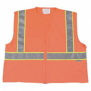 VESTE HV COOLDRY CLASSE2 ORANGE M