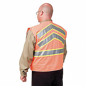 VEST HIGH VIS CLASS 2 ORANGE M