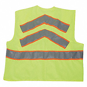 VEST HIGH VIS CLASS 2 LIME 2XL