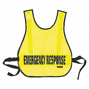 VEST SAFETY EMERGENCY REFLECT LIME