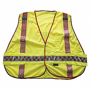 VEST PUB SAFETY REFLCT FIRE M/XL