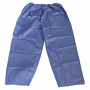 PANTS DISP POLYPROP BLUE PK25 S/M