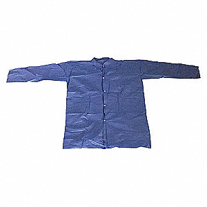 COAT LAB POLYPROP BLUE PK 25 L