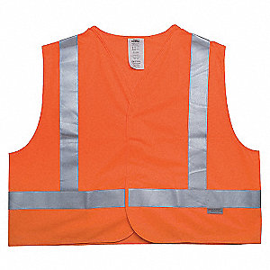 VEST HI VIS FR CLASS 2 ORANGE 3XL
