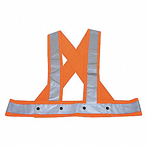 HARNESS HI-VIS UNRATED OR L/XL
