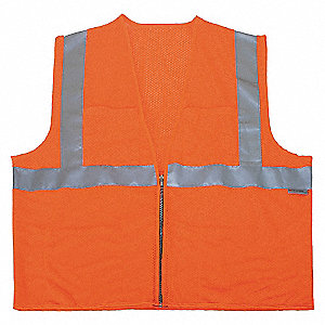 VESTE HV COOLDRY CLASSE2 ORANGE 2TG