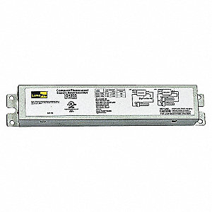 CFL BALLAST,ELECTRONIC,68W,120 TO 2