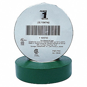 ELECTRICAL TAPE,3/4 X 60 FT.,7 MIL,