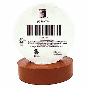 ELECTRICAL TAPE,3/4 X 66 FT.,7 MIL,