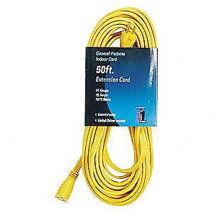 EXTENSION CORD,50 FT
