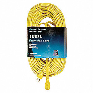 EXTENSION CORD,100 FT