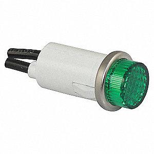 LIGHT INDICATOR GREEN 250V