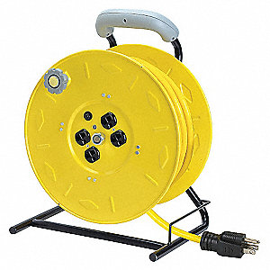 CORD REEL,OUTLET,125FT,SO14/3
