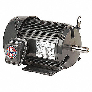 MTR,3PH,15 HP,3600,208-230/460V,EFF