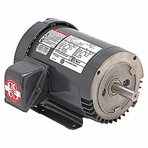 MTR,3PH,10 HP,1200,208-230/460V,EFF