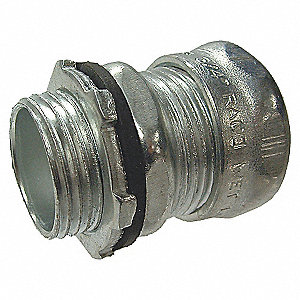 EMT CONNECTOR,NON INSULATED,2 IN