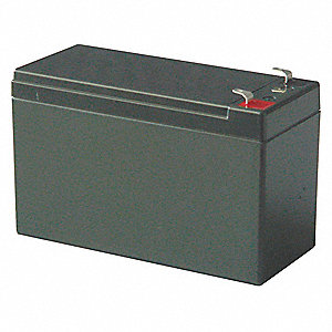 BATTERY, LEAD ACID, 12V, 7AH