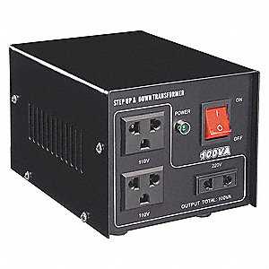 STEP UP/DOWN VOLTAGE TRANSFORMER,50