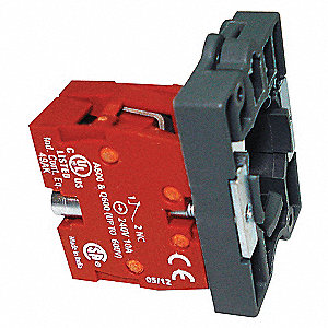 CONTACT BLOCK,MOUNTING BASE,22MM,1N