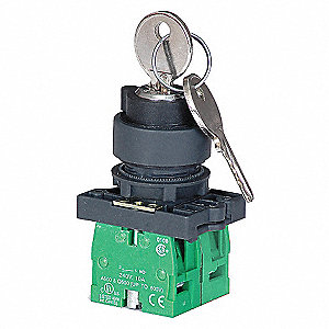 SELECTOR SWITCH,MAINTAINED,22MM,2PO