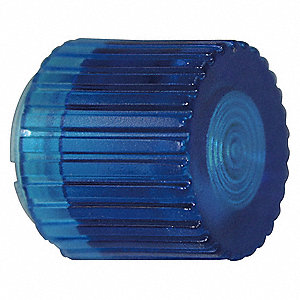 PUSHBUTTON CAP,ILLUMINATED,30MM,BLU