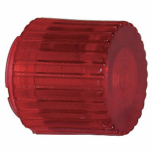 PUSHBUTTON CAP,ILLUMINATED,30MM,RED