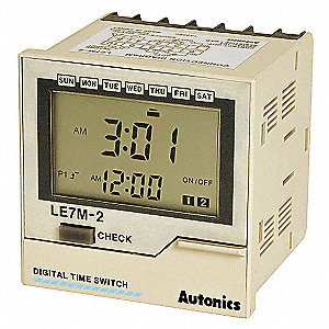 LCD DIGITAL TIMER,WEEKLY/YEARLY TIM