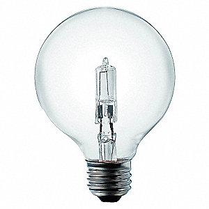 LAMP,HALOGEN,29W,G25,CLEAR,120V,PK2