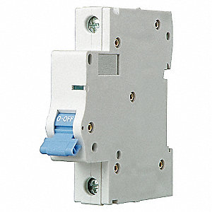 MINI CIRCUIT BREAKER,C CURVE,1P,4A,