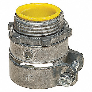 CONNECTOR,FLEX CONDUIT,STRAIGHT,1 I