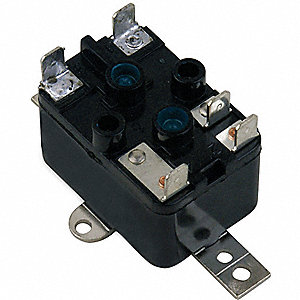 ENCLOSED FAN RELAY,SPDT,120V COIL