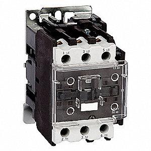 CONTACTOR ,IEC,40A,3P,120VAC,1NO/1N