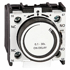 IEC TIMER,OFF DELAY,.1-30SEC,1NO/1N