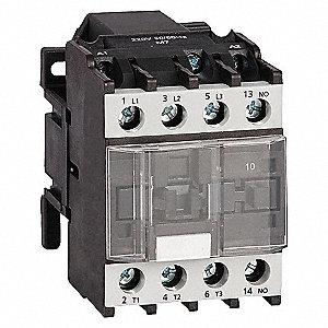 CONTACTOR ,IEC,9A,3P,24VAC,1NO