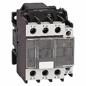 CONTACTOR ,IEC,25A,3P,120VAC,1NO
