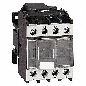 CONTACTOR ,IEC,25A,4P,120VAC,2NO/2N