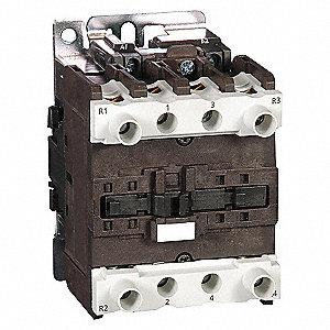 CONTACTOR ,IEC,50A,4P,24VAC,2NO/2NC