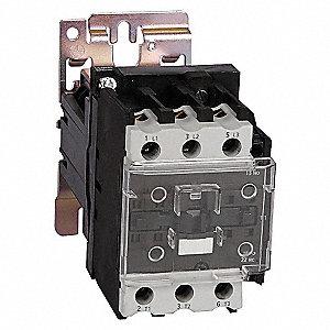 CONTACTOR ,IEC,50A,3P,24VDC,1NO/1NC