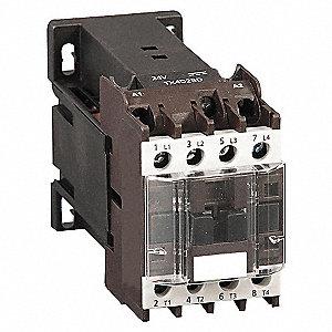 CONTACTOR ,IEC,12A,4P,24VDC,2NO/2NC