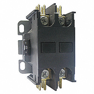 CONTACTOR,DP,25A,2P,208-240VAC