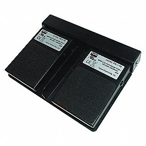 TWO PDL LGHT DTY FOOT SWITCH,MMNTRY