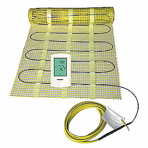 ELECTRIC FLOOR HEATING KIT,40 SQ. F