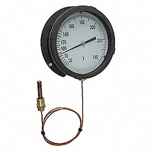 ANALOG PANEL MT THERMOMETER,30 TO 1