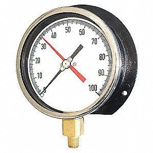 GAUGE,ALTITUDE,4 1/2 IN,300PSI,690F