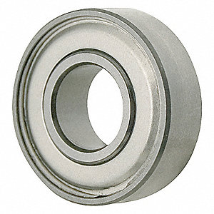 RADIAL BEARING,SHIELDED,BORE 0.1250